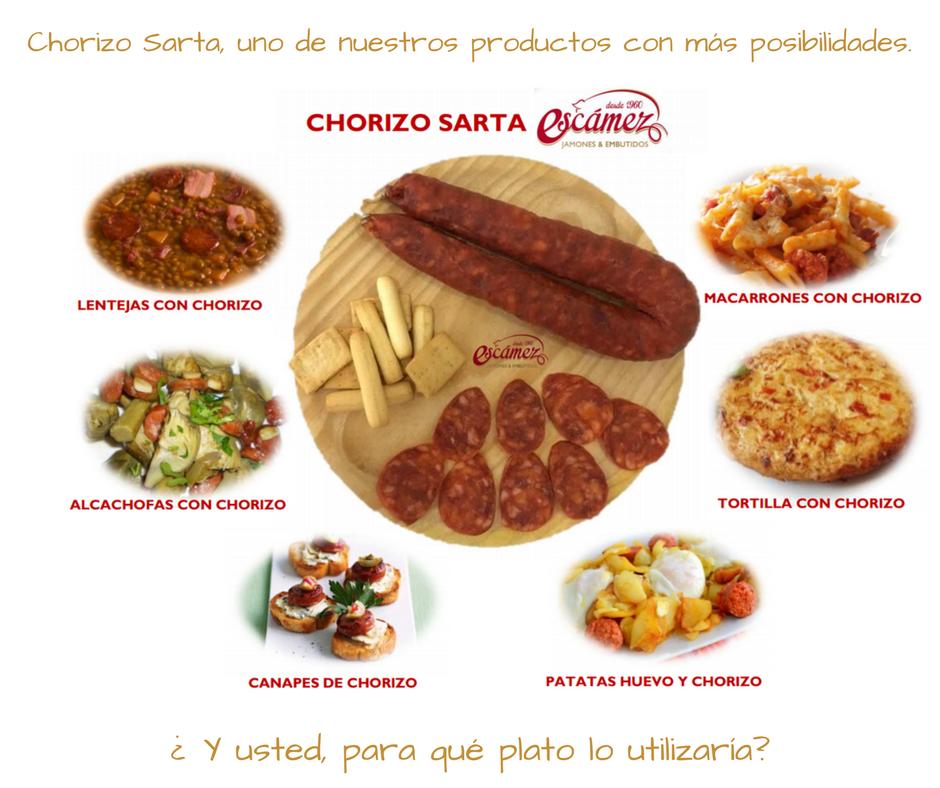 Chorizo Sarta Escámez
