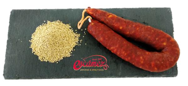 Essquisitos con quinoa Escámez