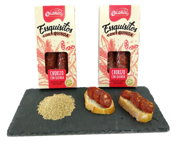 Chorizo con quinoa Escámez