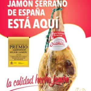Premio Mejor Jamón Serrano de España 2020