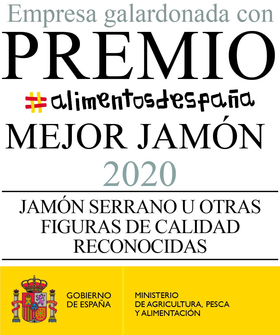 Mejor Jamón Serrano de España Año 2020